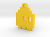 Pac Man Ghost 8-bit Earring 1 (looks right) 3d printed