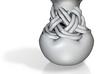 Woven Ceramic Vase 3d printed