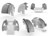 Sand Scorcher Inner Wheel Arches, Front 3d printed Inner Front Wheel Arch Designs