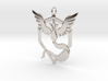 Team Mystic Pendant - Pokemon Go - Articuno 3d printed