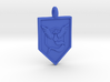 Team Mystic Badge Keychain 3d printed