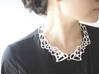 Lace Necklace 3d printed