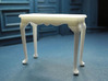 1:24 Fancy Queen Anne Console Table, Medium 3d printed Printed in White Strong & Flexible