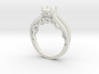 Engagement ring 3d printed