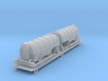 Flat Car With Load Z Scale 3d printed Flat car with load Z scale