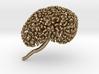 Gold Printable Kidney Ureteric Tree (Mountable) 3d printed