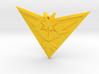 Pokemon Go - Team Instinct - Pendant  3d printed