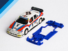 1/32 Ninco Alfa Romeo 155 DTM Chassis 3d printed Chassis compatible with Ninco Alfa Romeo 155 DTM body (not included)