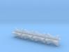 1/18 4 Inch Muffler Clamps 3d printed