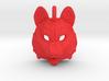 Plastic Husky Pendant 3d printed