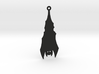 Halloween Bat Earring 3d printed