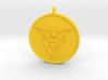 Pokemon Go - Instinct Team Pendant - WITH YOUR NAM 3d printed