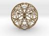 Icosahedron symmetry circles 16 3d printed