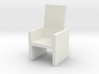 Card Holding Chair (7cm x 7cm x 12cm) (Hollow) 3d printed