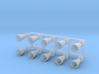 Orion SM SPS Engines 1:32 3d printed