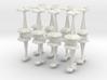 MicroFleet AstroGator Heavy Battlegroup (16pcs) 3d printed