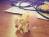 Fluttershy 1 Full Color - XS 3d printed
