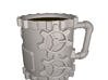 Steampunk Coffee Mug 3d printed Rendering