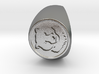 Custom Signet Ring 36 V3 3d printed