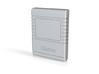 C64 Cartridge Casing (top) v1.1 3d printed