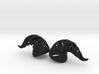 Wraith Demon Horns: Medium Human Size 3d printed