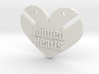BJD Jointed Hearts  3d printed
