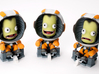 Kerbal IVA Bundle 3d printed Credit: Mark Madeo of PC Gamer
