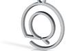 Q Monogram Pendant 3d printed