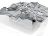 "12"" Mt. Whitney Terrain Model, California, USA 3d printed"