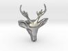 Wild Deer Pendant 3d printed