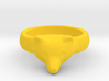 Wild Bear Ring size 5 3d printed