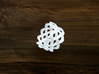 Turk's Head Knot Ring 4 Part X 9 Bight - Size 7.5 3d printed