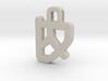 Darwen Heart lock Pendents XL 3d printed