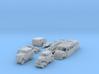 BONUS SET Stromlinienfahrzeuge (N 1:160) 3d printed