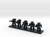 TA ARM Pewee Squad - 1cm tall 3d printed