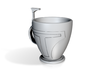 Boba Fett Tea\Coffee Cup 3d printed