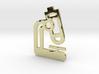 Microscope Pendant Jewelry 3d printed