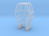 1/64 Pro Stock Tractor Roll Cage 3d printed