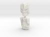 Optimus Primal and Megatron Face 2-pack (Titans Re 3d printed