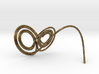 Lorenz Butterfly (Lorenz Attractor) 3d printed