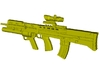 1/15 scale BAE Systems L-85A2 rifle x 1 3d printed