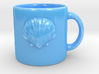 Scallop Shell Coffee Mug 3d printed