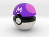 Pokeball (Master) 3d printed