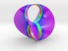 Hyperbole 01 Color Sculpture 3d printed