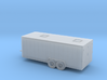 1/120 22 Foot Inclosed Trailer 3d printed
