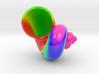 Seashell Tangent 02 Color Sculpture 3d printed