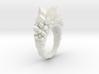 Crystal Ring Size 7.5 3d printed