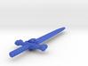 """5.75"""" Bone Sword 3d printed"""