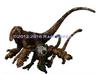 Raptor Statues 3d printed 3D printed dinosaur models RareBreed ©2012-2016
