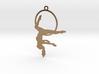 """""""Gazelle"""" Aerial hoop pose 3d printed"""